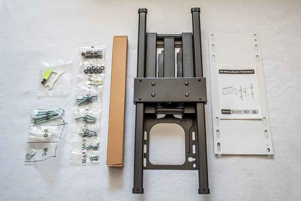 full-motion-wall-mount-unboxed